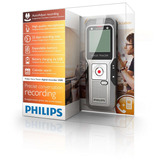 Grabadora De Voz Digital 2gb Philips Recargable Mp3 1411kbps