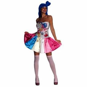 Disfraz De Katy Perry Candy Girl Talla Xs