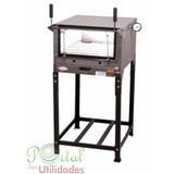 Forno Refratário Industrial A Gás Pequeno 52x80 -pizza/pães