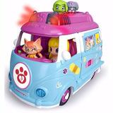 Pinypon Ambulancia De Mascotas Pin Y Pon Con Luz Figura Y Ma