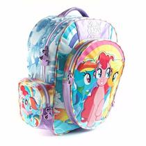 Mochila Espalda My Little Pony 16 Pulg Escolar Original