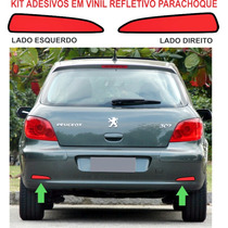 Acessorios Refletivo Parachoque Adesivo Peugeot 307