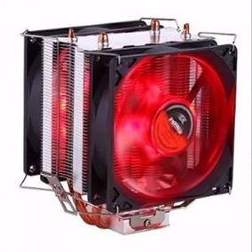 Cooler Universal Cpu Duplo Red Intel Amd 1150 Am3 Fm 775