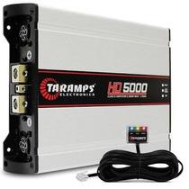 Módulo Amplificador Taramps Hd 5000 2 Ohms + 01 Rca 5 Metros