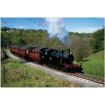 Rompecabezas Tren Antiguo Locomotora 1000 Pz Tomax 100-321