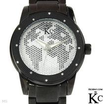 Reloj Techno Kom Hombre 12 Diamantes Acero Inoxidable Sp0