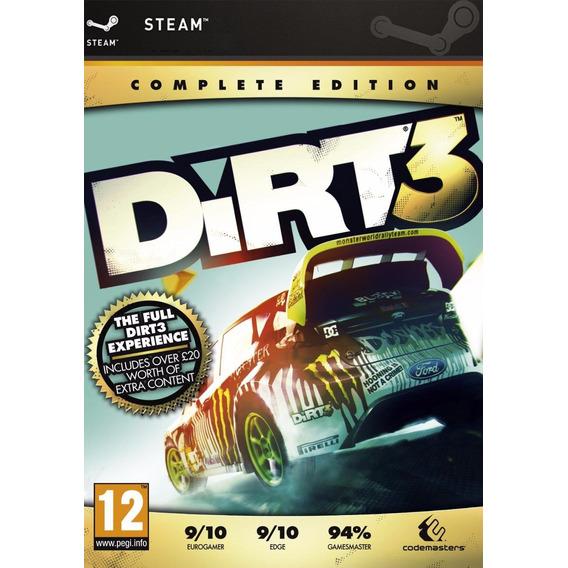 Dirt 3 Complete Edition | Pc | Original | Steam | Digital