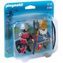Retromex Playmobil 5166 Blister Caballeros Medieval Castillo