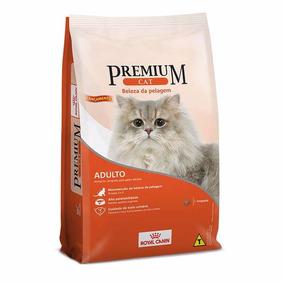 Ração Royal Canin Premium Cat Beleza Pelagem 10 Kg Frete G.