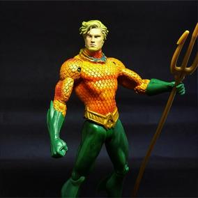 Boneco Action Figure Aquaman Liga Da Justiça Superman Dc