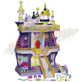 Castillo Canterlot My Little Pony Princesa Celestia Y Spike
