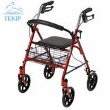 Andador Ortopedico Caminador Plegable Asiento Canasto Envíos