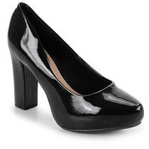 Sapato Scarpin Conforto Feminino Beira Rio - Preto