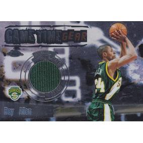 2003-04 Topps Chrome Jersey Ray Allen Sonics