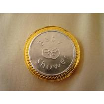 Moneda Bolo Recuerdos Baby Shower Bautizo, Bebe, Boda, Repuj