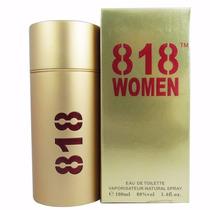 818 Women - Gold - 100ml - Floral