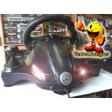 Volante Con Pedalera , Palanca Y Regulador Pro - Ps2 Ps3 Pc