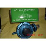 Regulador De Gas Para Bombona De Rosca 18 Y 43 Kg