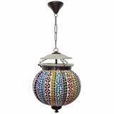 Lámpara Redonda Turca Marroquí Hindú Oriental