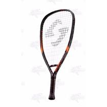 Raqueta Para Racquetball Gearbox Gb75 3 5/8 Negro Naranja Xt