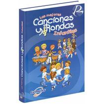 Las Mejores Canciones Y Rondas Infantiles Con 2 Cds-audio