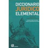 Diccionario Juridico Elemental De Guillermo Cabanella En Pdf