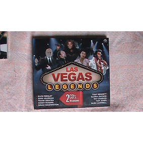 Cd Doble De Varios Cantantes/leyendas:las Vegas Legends