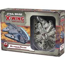 Star Wars X-wing Millenium Falcon Portugues Novo Expansão