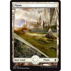 1x Terrenos Full Art - Land Zendikar Planicie Magic