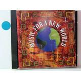 Cd - Music For A New World (coletanea)-badi/ana Caram/astor.
