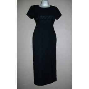 Scarlett!!! Impecable Vestido Negro Diseño De Torerita, T-3!