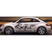 Sticker Dragon En Vinil Gol, Vocho, Chevy Atos Betlee