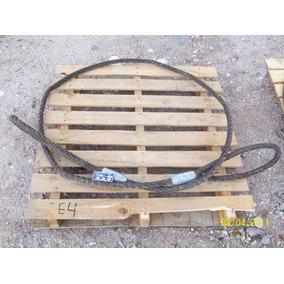 Estrobo De Cable De Acero De 1 Pulgada X 4.4 Metros
