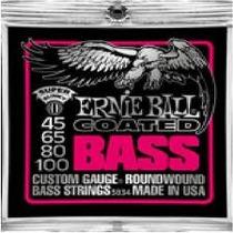 Set Cuerdas Bajo Elec 45-100 Eball Slinky 3834 Confirme Exis