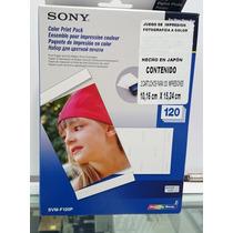 Papel Fotografico Sony Svm-f120p Impresora Dpp-f