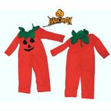 Disfraz Bebe Halloween Calabaza Artesanal Jugueterias Random