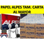 Papel Alpes Tamaño Carta Mayor Y Gran Mayor