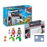 Playmobil Futebol Pratica De Chute A Gol Original Novo Lacra
