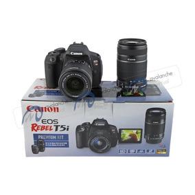 Câmera Canon T5i Premium (18-55mm Is Stm + 55-250mm Is Ii)