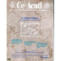 La Cultura De Anahuac Ce Acatl Antigua Revista1992 Maa
