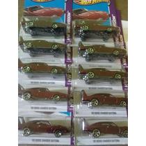 Hotwheels 69 Dodge Charger Daytona Lote 10 Pz