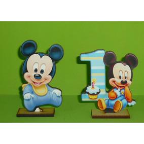 10 Centros De Mesa Mickey Bebe