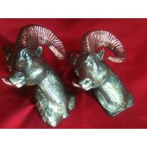 Figuras De Borrego Cimarron De Antimonio Metal