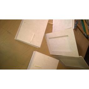Portarretratos Fibrofacil 7x10 Recto Con Vidrio Incluido