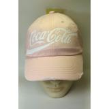 Boné Rosa Coca Cola Acessories Vintage Estilo Retrô Top