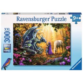 Rompecabezas Ravensburger 300 Piezas Xxl Dragon 13230