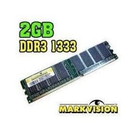 Memorias 2gb Ddr3 1333mhz Para Pc Markvision Nuevas