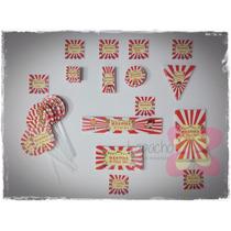 Etiquetas Candy Bar - 4 Combos - Personalizados