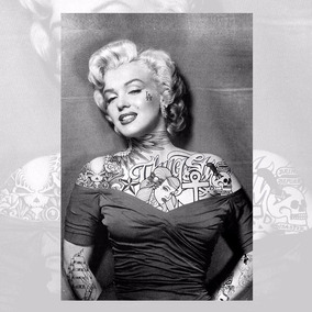 Adesivos Decorativos Retro Vintage Tatuagem Tattoo 21x14cm