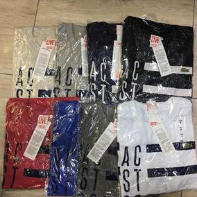 Camiseta Lacoste Live Original Estampada - Vários Modelos